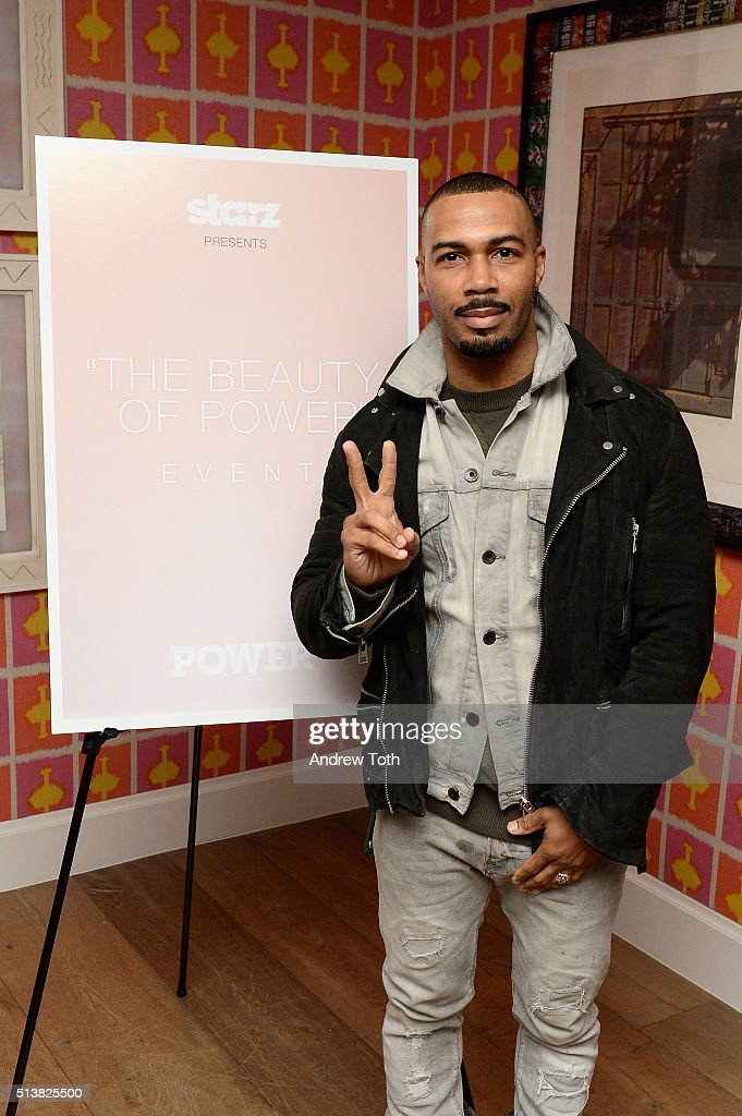 Omari Hardwick attends the The Beauty Of Power Event at Crosby Hotel on March 4, 2016 in New York City.