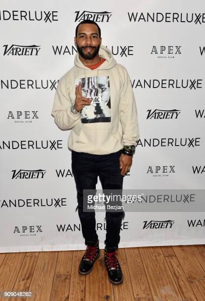 Omari Hardwick attends the WanderLuxxe House with Apex Social Club and Tesla presents A BOY A GIRL AND A DREAM Premiere Party featuring Casamigos...