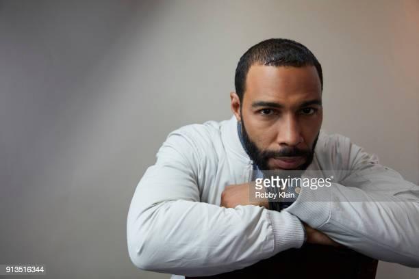 Omari Hardwick from the film 'Sorry To Bother You' poses for a portrait in the YouTube x Getty Images Portrait Studio at 2018 Sundance Film Festival...
