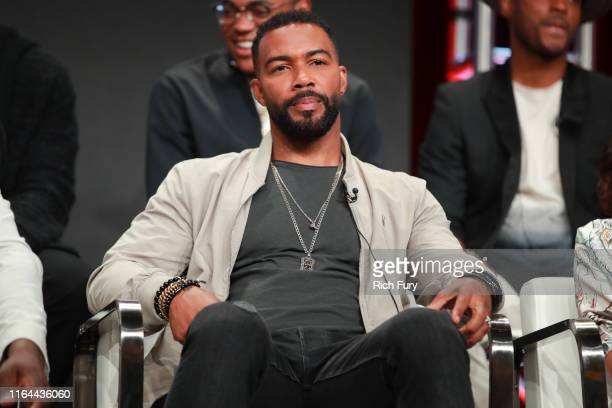 Omari Hardwick of 'Power' speaks onstage during the Starz segment of the Summer 2019 Television Critics Association Press Tour at The Beverly Hilton...