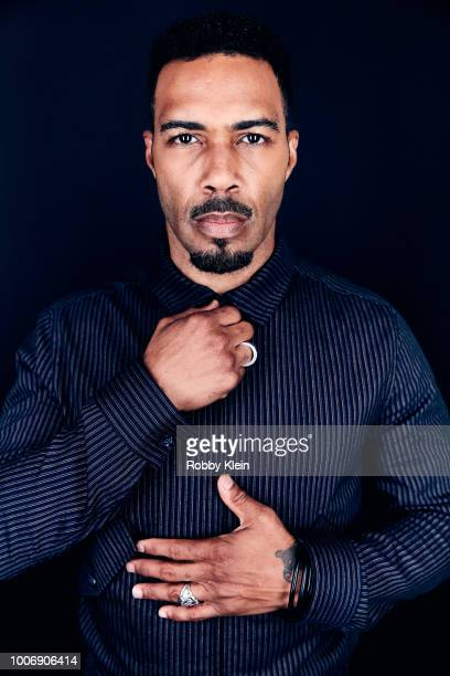 Omari Hardwick of STARZ's 'Power' poses for a portrait during the 2018 Summer Television Critics Association Press Tour at The Beverly Hilton Hotel...