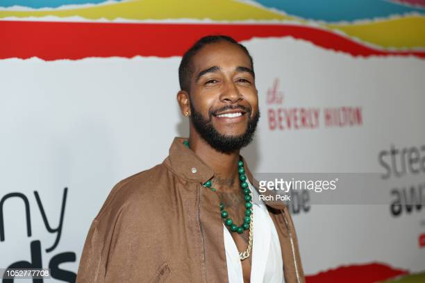 Omarion attends The 8th Annual Streamy Awards at The Beverly Hilton Hotel on October 22 2018 in Beverly Hills California
