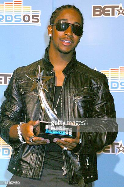 Omarion during 2005 BET Awards Press Room at Kodak Theatre in Los Angeles California United States