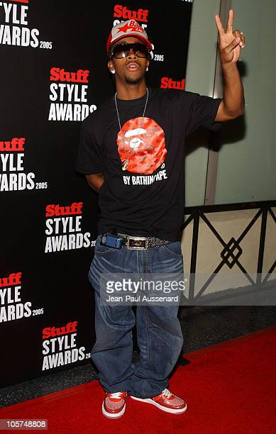 Omarion during 2005 Stuff Style Awards Arrivals at Hollywood Roosevelt Hotel in Hollywood California United States