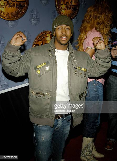 Omarion during 3rd Annual MTV 'TRL' Awards Arrivals at MTV Studios in New York City New York United States