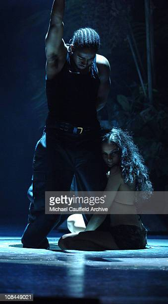 Omarion performs a medley of O/Touch during 2005 BET Awards Show at Kodak Theatre in Hollywood California United States