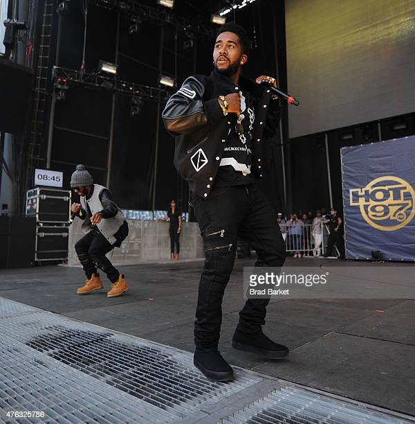 Omarion performs at the 2015 Hot 97 Summer Jam at MetLife Stadium on June 7 2015 in East Rutherford New Jersey
