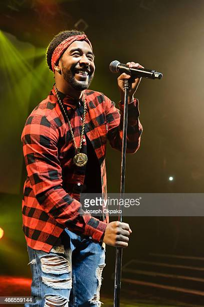 Omarion performs on stage at KOKO on March 16 2015 in London England