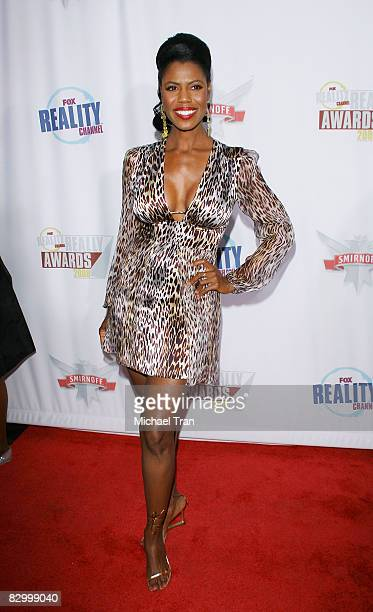 Omarosa arrives at the FOX Reality Channel Really Awards held at Avalon Nightclub on September 24 2008 in Hollywood California