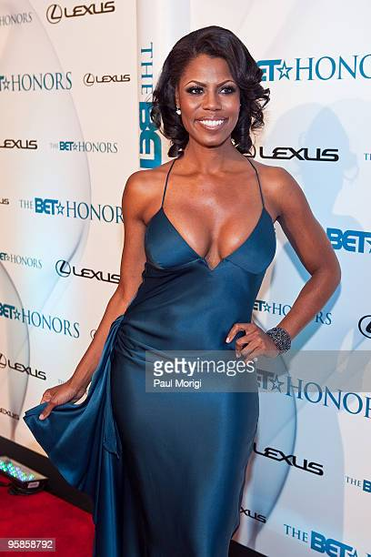 Omarosa arrives to the 3rd annual BET Honors at the Warner Theatre on January 16 2010 in Washington DC