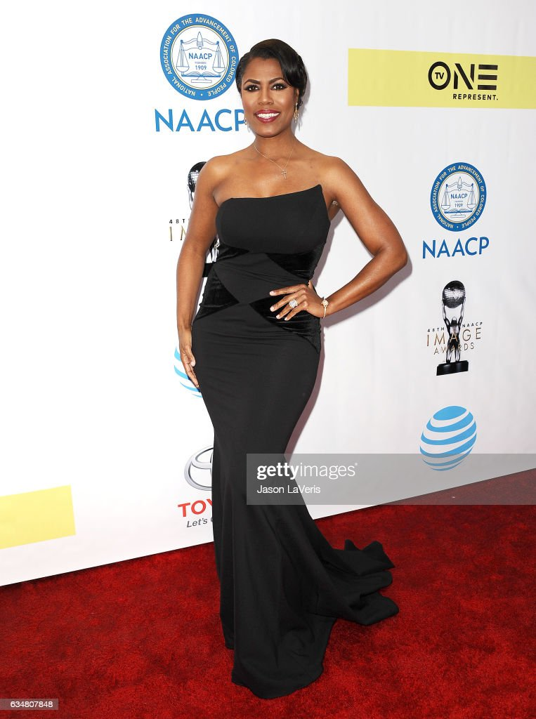 Omarosa Manigault attends the 48th NAACP Image Awards at Pasadena Civic Auditorium on February 11, 2017 in Pasadena, California.