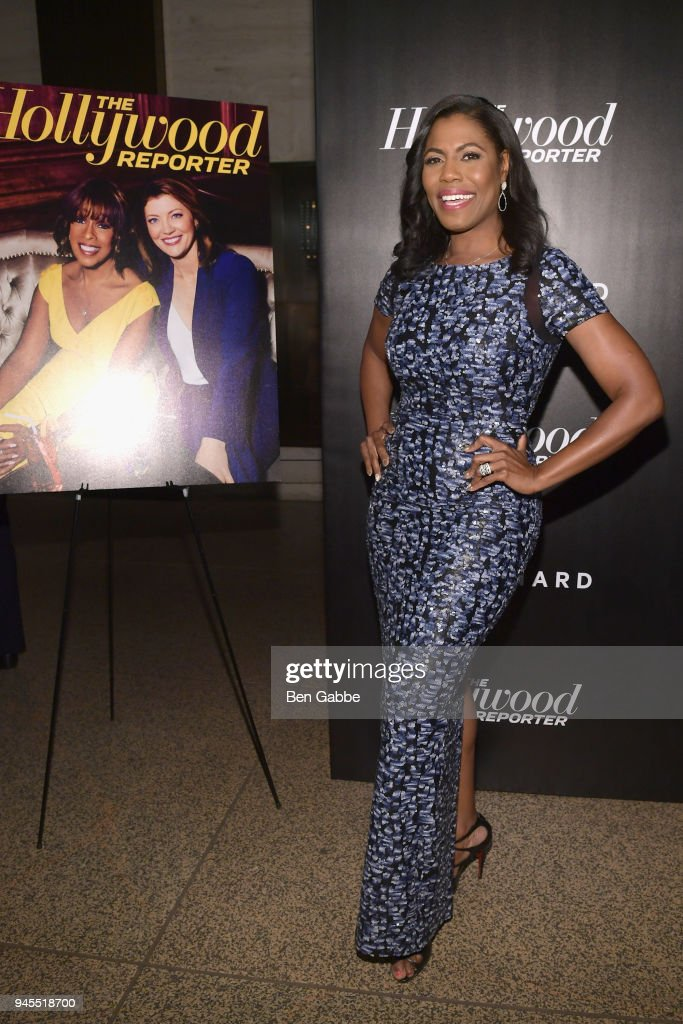 Omarosa Manigault attends The Hollywood Reporter's Most Powerful People In Media 2018 at The Pool on April 12, 2018 in New York City.