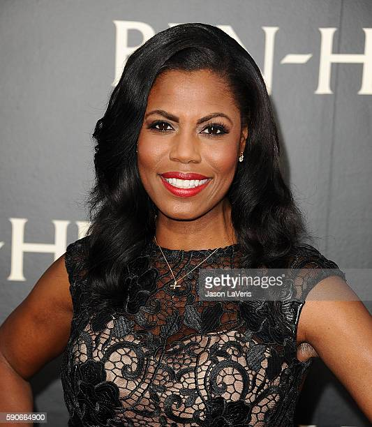 Omarosa Manigault attends the premiere of BenHur at TCL Chinese Theatre IMAX on August 16 2016 in Hollywood California