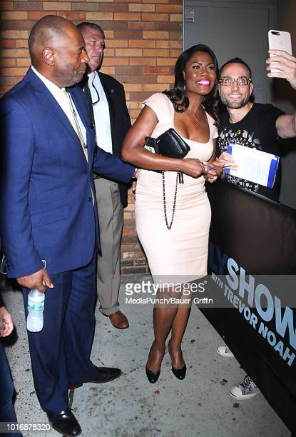 Omarosa Manigault Newman is seen on August 14 2018 in New York City