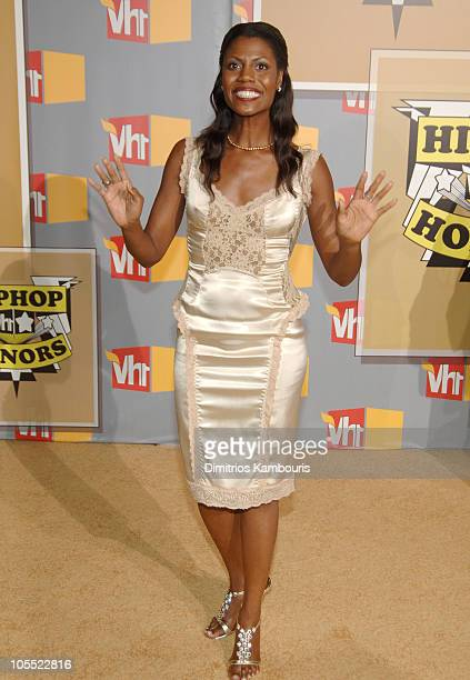 Omarosa ManigaultStallworth during 2005 VH1 HipHop Honors Arrivals at Hammerstein Ballroom in New York City New York United States