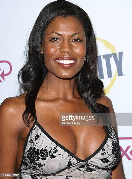 Omarosa ManigaultStallworth during Fox Reality Presents 'The Reality Remix Really Awards' Arrivals at Les Deux in Hollywood California United States
