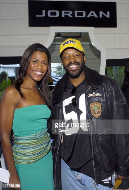 Omarosa ManigaultStallworth of The Apprentice and Kadeem Hardison