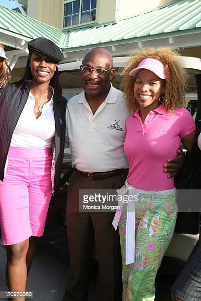 Omarosa ManigqultStallworth Attorney Willie Gary and Donna RichardsonJoyner
