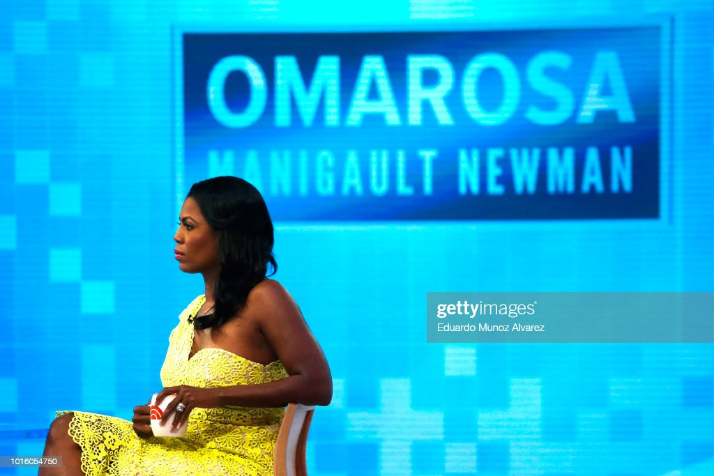 "Omarosa Manigualt-Newman Promotes Her New Book On The ""Today Show"""