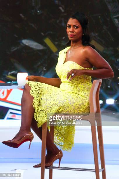 Omarosa ManigualtNewman waits to promote her new book on The Today Show on August 13 2018 in New York City Omarosa Manigault Newman Former White...
