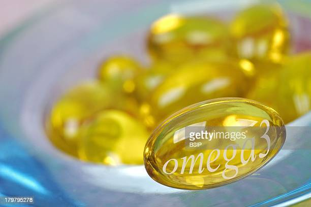 Omega 3 Food Supplement.