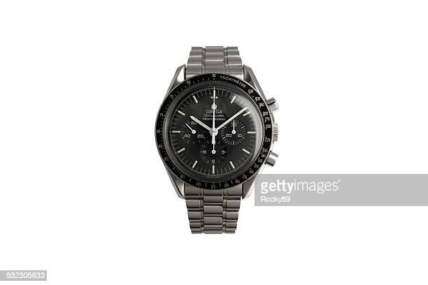 omega wrist watch - white gold stock pictures, royalty-free photos & images