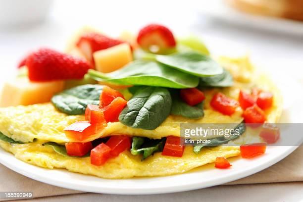 Omelett für Frühstück