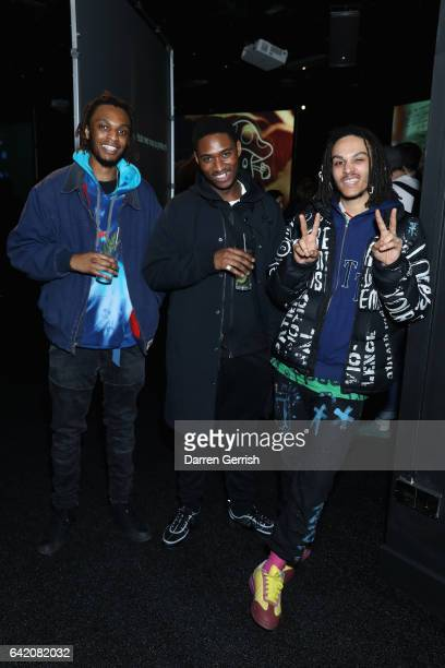 Omelet Ryan Hawaii and guest attend Material World hosted by Selfridges and Dazed on February 16 2017 in London England