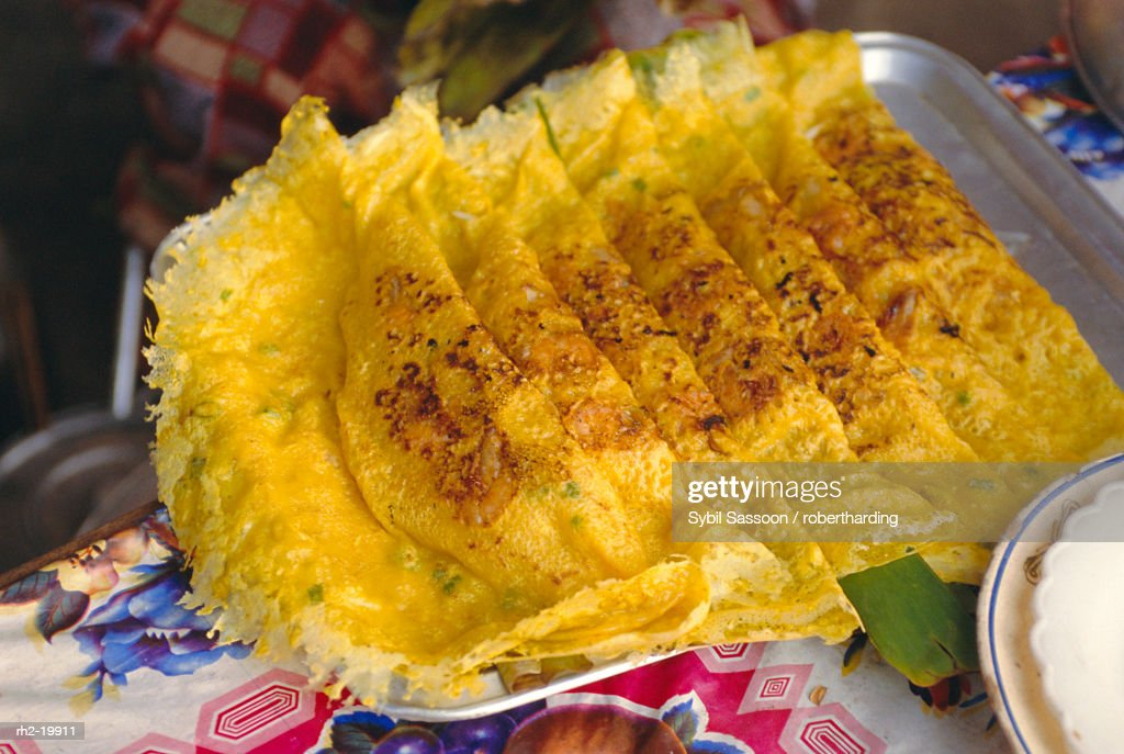 'Omelettes, Ho Chi Minh City (formerly Saigon), Vietnam, Indochina, Southeast Asia, Asia' : Foto de stock