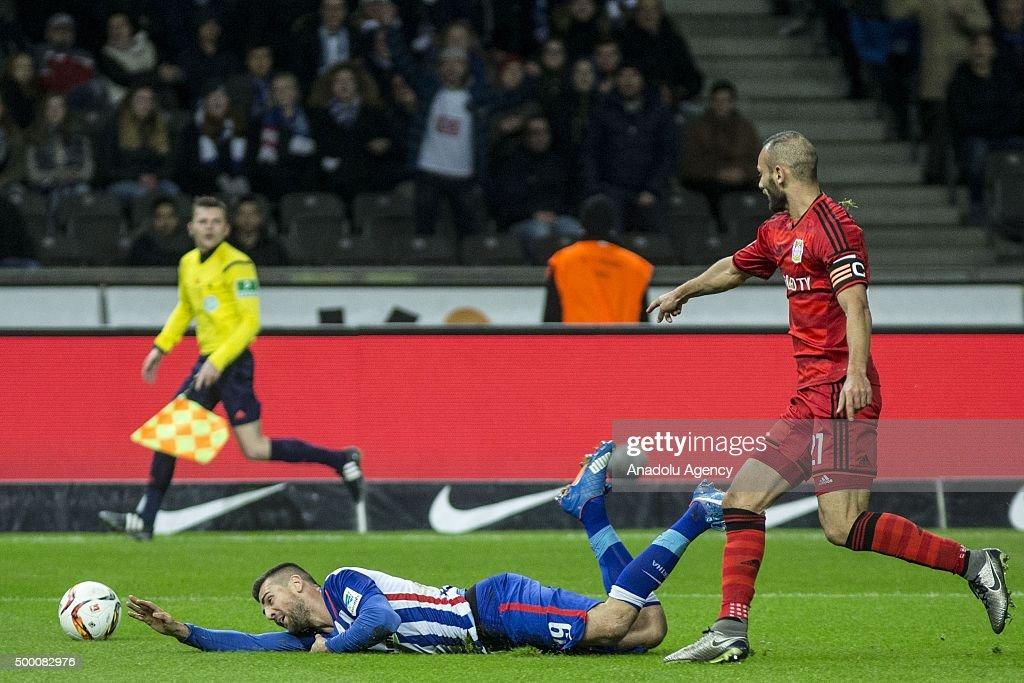 Hertha Berlin vs Bayer Leverkusen - Bundesliga : News Photo
