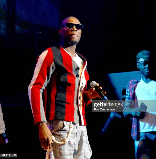 Omi performs onstage at KTUphoria 2017 at Northwell Health at Jones Beach Theater on June 3 2017 in Wantagh New York