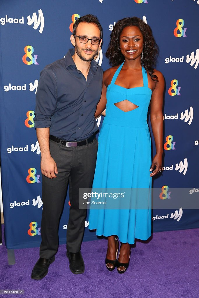 Omid Abtahi and Yetide Bakadi arrive at the 'American Gods' advance screening In Partnership With GLAAD at The Paley Center for Media on May 10, 2017 in Beverly Hills, California.