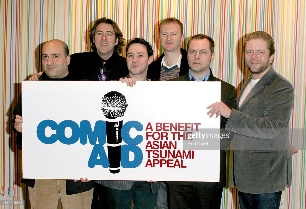 Comic Aid - Press Launch and Photocall