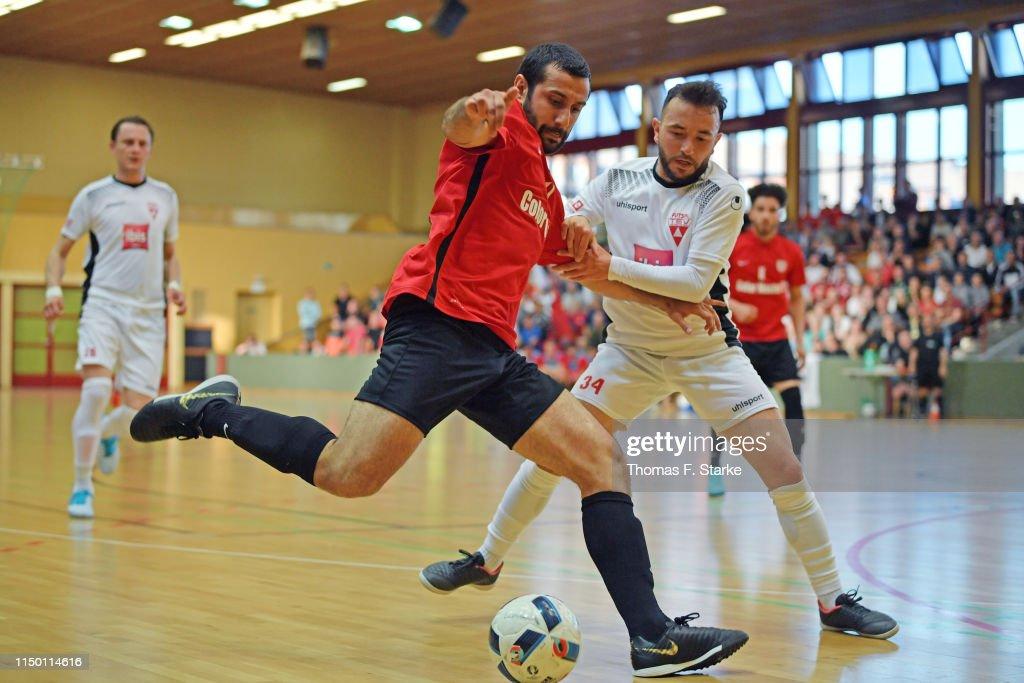 DEU: FC Liria Berlin v TSV Weilimdorf - German Futsal Championship Semi Final