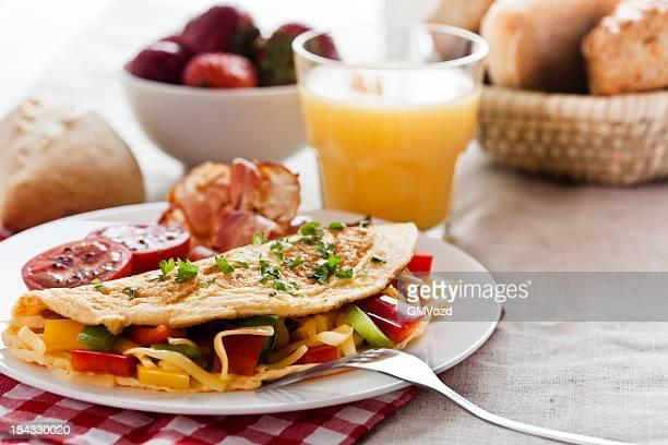 Omlette für Frühstück