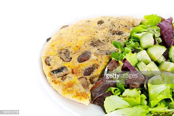 Omlette Salad