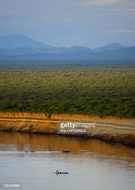 Omo river seen from Korcho village in Ethiopia on October 29 2008 The Omo River is a major river of southern Ethiopia The lower valley of the Omo is...