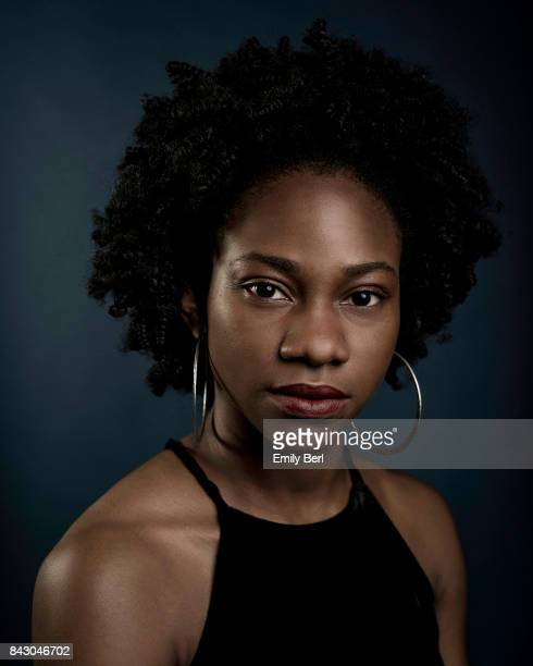 Omono Okojie is photographed at the Sundance NEXT FEST at The Theatre At The Ace Hotel on August 12 2017 in Los Angeles California