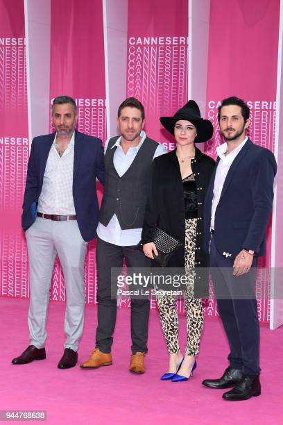 Omri Givon Moshe AshkenaziNinet Tayeb and Tomer Kapon from 'When heroes fly' serie attends the Closing Ceremony and 'Safe' screening during the 1st...