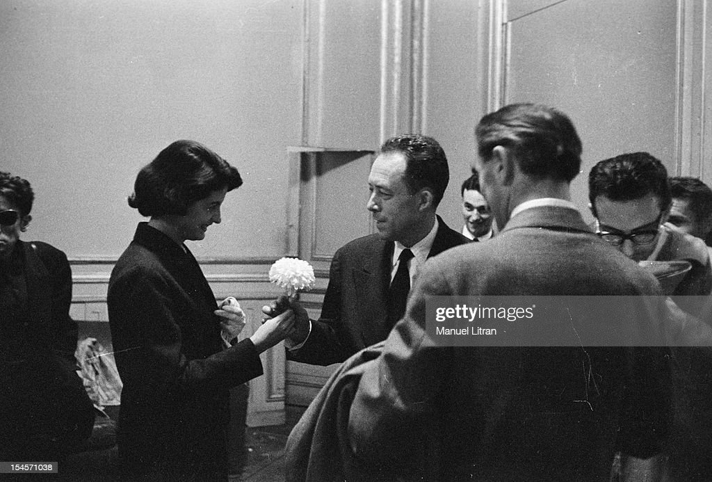 Albert Camus 1957 Nobel Prize For Literature News Photo