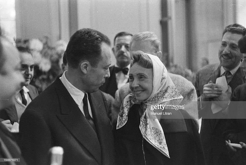Albert Camus 1957 Nobel Prize For Literature News Photo