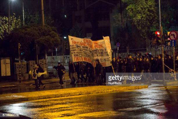 On 17th of November is the anniversary day the 1973 crackdown on a student uprising in the Polytechnical school in Athens against the military...