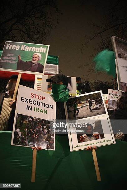 On 1st March 2011 a group of Iranians affiliated with the Iranian Green Movement gathered in front of the Iranian embassy in London to protest...