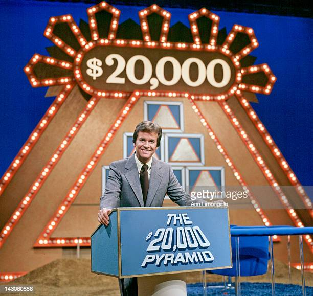 PYRAMID 9/19/75 On '$20000 Pyramid' a contestant and a celebrity guest selected one category of six on a pyramidshaped board and playing against the...