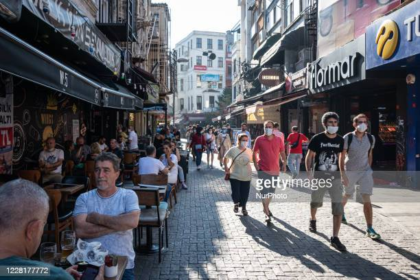 On 23 August citizens of Turkey's largest city Istanbul on August 24 went about leisure activities on a Sunday afternoon and pursued daily routines...