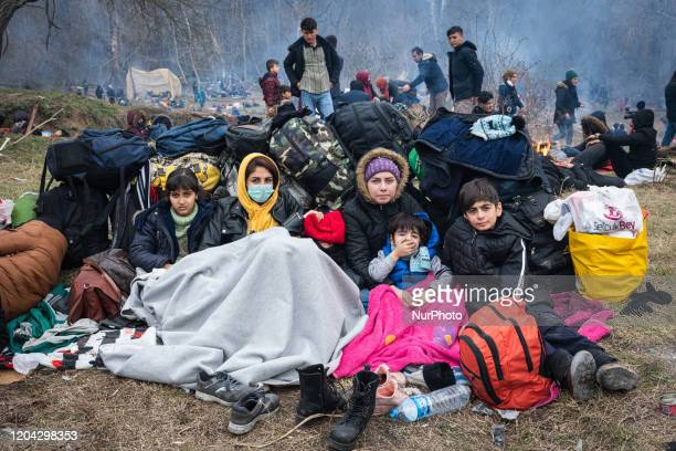 On 29 February thousands of refugees and migrants including women and young children arrived at the Pazarkule border crossing between Greece and...