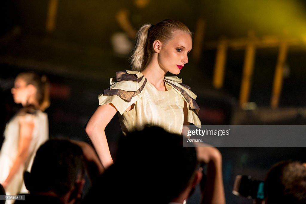 On a catwalk : Stock Photo