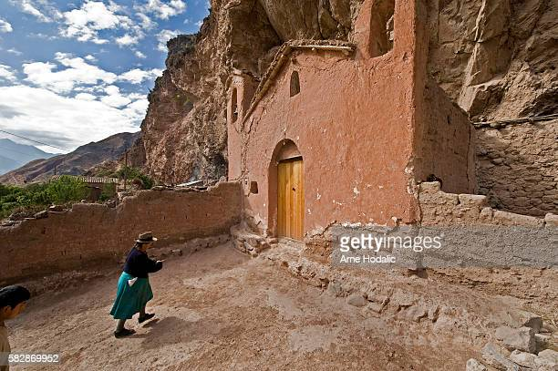 On a plateau about an hour's walk from the salt pans is Tiobamba where a church stands in the middle of nowhere This church is only opened once a...