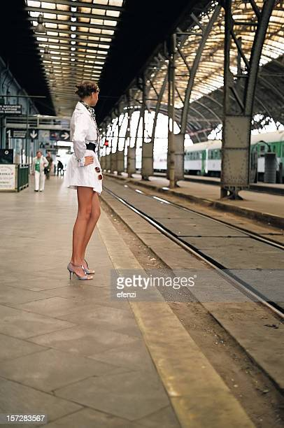 On a platform