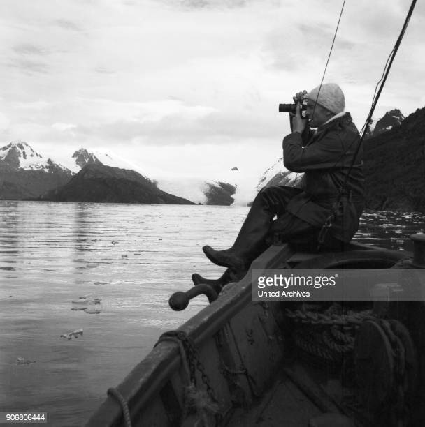 On a short small trip to Agostini Fjord on the Southern tip of Chile 1960s